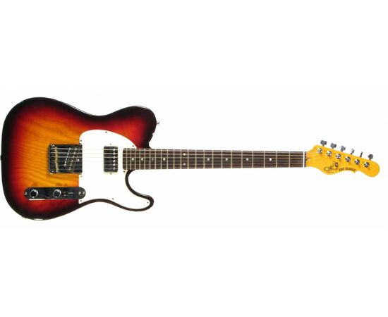 Електрогітара G & L ASAT CLASSIC Blues Boy (3 Tone Sunburst, ebony) № CLF48480, фото 2