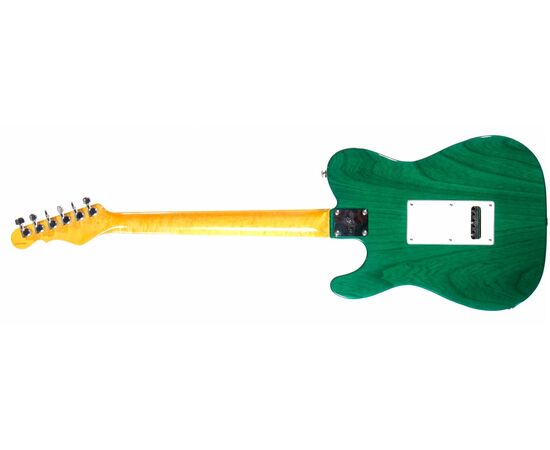 Электрогитара G&L ASAT Z3 (Clear Forest Green, maple, 3-ply Pearl) № CLF45565, фото 3