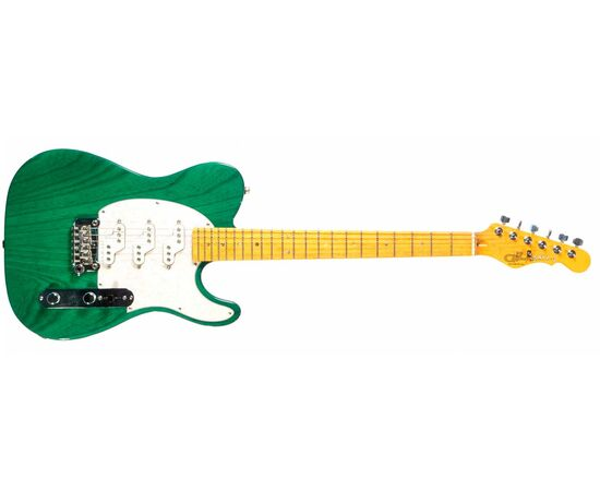 Электрогитара G&L ASAT Z3 (Clear Forest Green, maple, 3-ply Pearl) № CLF45565, фото 2