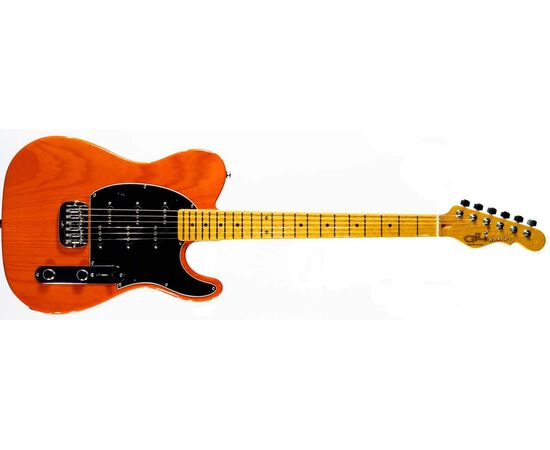 Електрогітара G & L ASAT Z3 (Clear Orange, maple, 1-ply Black) № CLF50966, фото 2