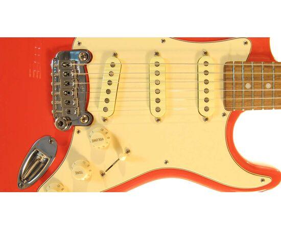 Електрогітара G & L LEGACY (Fullerton red, 3-ply Vintage Creme, Maple), фото 4