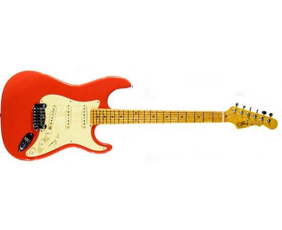Електрогітара G & L LEGACY (Fullerton red, 3-ply Vintage Creme, Maple), фото 2