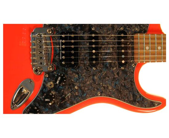 Электрогитара G&L LEGACY HB (Fullerton Red, rosewood, Black Pearl), фото 4