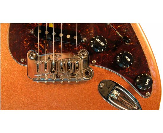 Електрогітара G & L LEGACY (Spanish Copper Metallic. Shell. Rosewood), фото 4