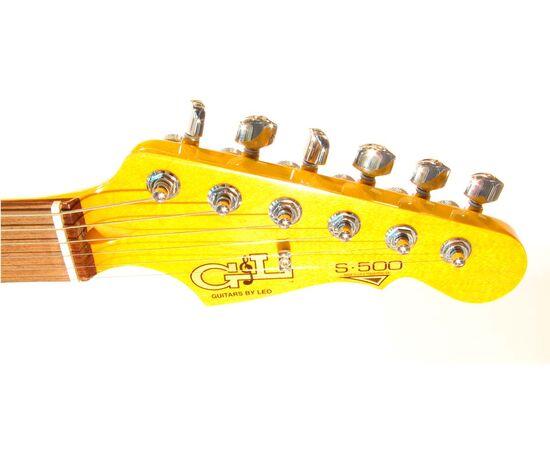 Электрогитара G&L S500 (Amber.3-plyTortoise Shell.maple), фото 5