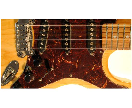 Електрогітара G & L S500 (Natural Gloss. 3-ply Tortoise Shell. Rosewood), фото 5