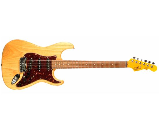 Електрогітара G & L S500 (Natural Gloss. 3-ply Tortoise Shell. Rosewood), фото 2