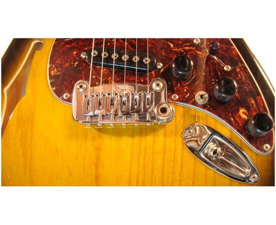 Електрогітара G & L S500 Semi-Hollow (2-Tone Sunburst, 3-ply Tortoise Shell. Maple), фото 4