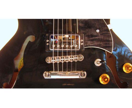 Електрогітара HERITAGE H535 W HRW'S PICKUPS BLACK №22701, фото 5