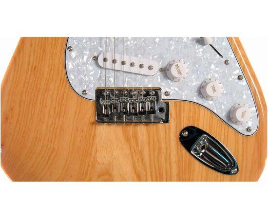 "Електрогітара (копія ""Fender Stratacaster"") SX FST / ASH / NA, фото 5"