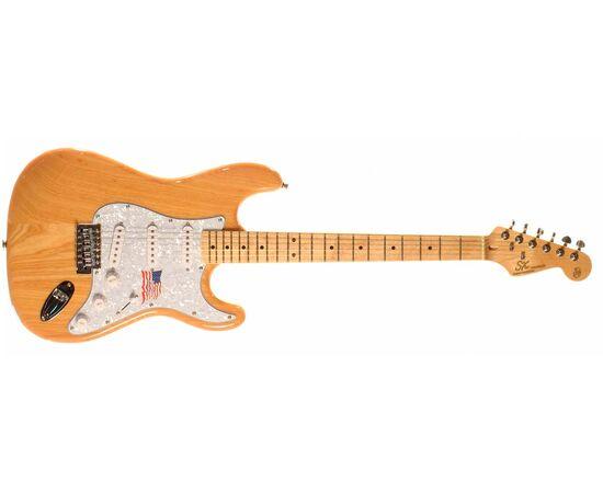 "Електрогітара (копія ""Fender Stratacaster"") SX FST / ASH / NA, фото 2"