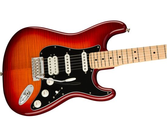 Електрогітара FENDER PLAYER STRATOCASTER HSS PLUS TOP MN ACB, фото 3