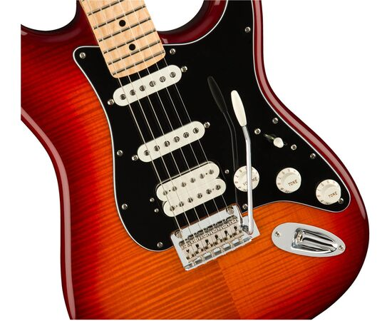 Електрогітара FENDER PLAYER STRATOCASTER HSS PLUS TOP MN ACB, фото 4