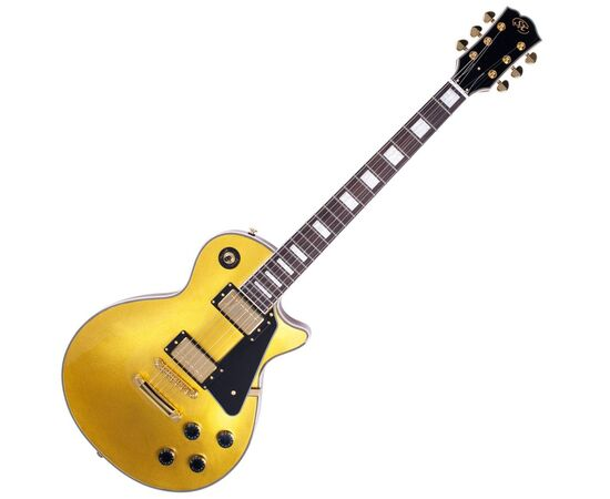 "Електрогітара (копія ""Gibson Les Paul Custom"") SX EH3-GD, фото"