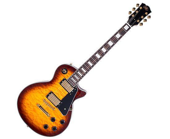 "Электрогитара (копия ""Gibson Les Paul Custom"") SX EH3D-DS, фото"
