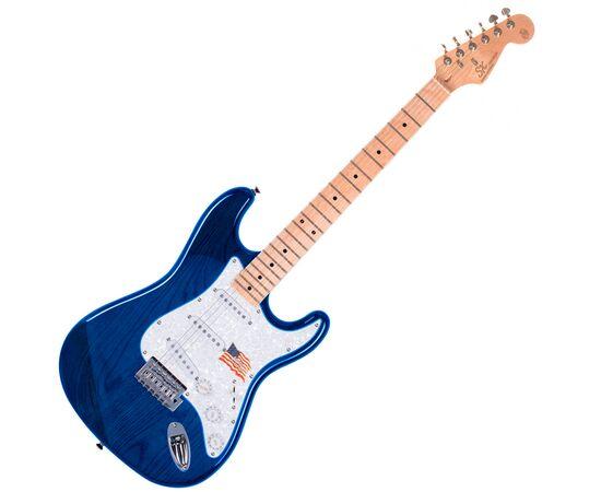 "Електрогітара (копія ""Fender Stratacaster"") SX FST / ASH / TBU, фото"