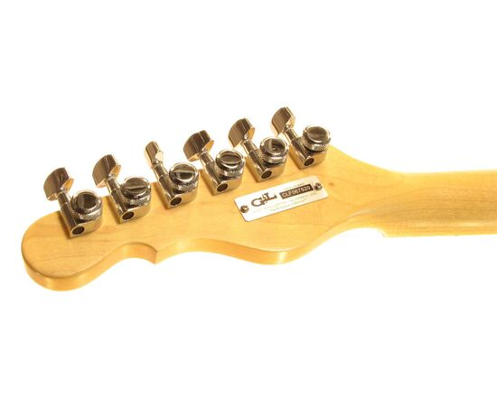 G&L ASAT CLASSIC ALNICO (Butterscotch Blonde, maple, 1-ply Black). № CLF067520, фото 8