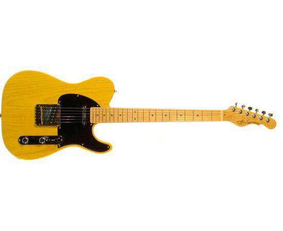 G & L ASAT CLASSIC ALNICO (Butterscotch Blonde, maple, 1-ply Black). № CLF067520, фото 2