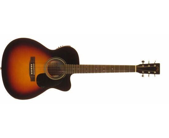 Акустическая гитара с вырезом и подключением SX OM160CE/VS, фото 2