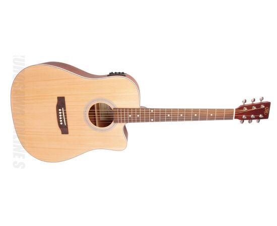 Акустична гітара з вирізом та підключенням SX SD204CE, фото 2