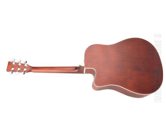 Акустична гітара з вирізом та підключенням SX SD204CE, фото 3