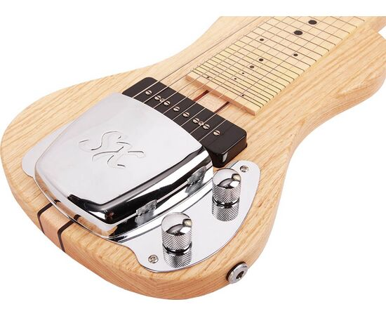 Слайдовая восьмиструнная гитара со стойкой и чехлом SX LG2/8 W/STAND, фото 4