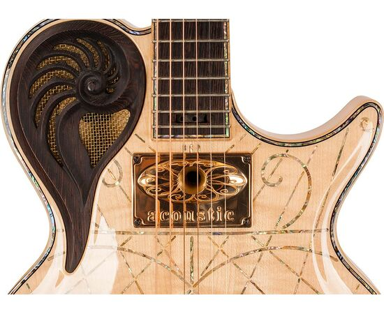 Электрогитара Universum Guitars Elena Alpha Acoustic Custom, фото 3