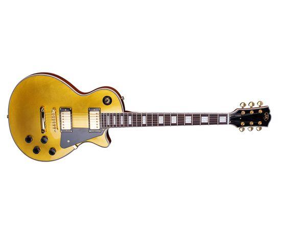 "Електрогітара (копія ""Gibson Les Paul Custom"") SX EH3-GD, фото 3"