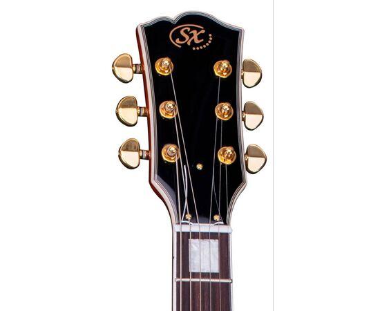 "Електрогітара (копія ""Gibson Les Paul Custom"") SX EH3-GD, фото 6"