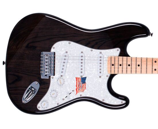 "Електрогітара (копія ""Fender Stratacaster"") SX FST / ASH / TBK, фото 3"
