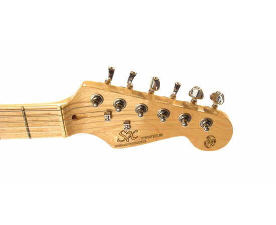 "Електрогітара (копія ""Fender Stratacaster"") SX FST / ASH / TBK, фото 5"