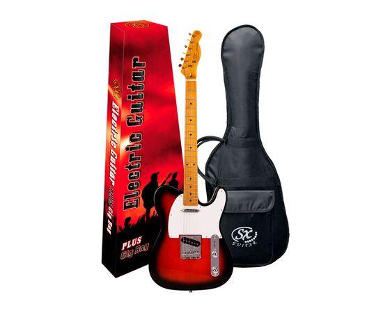 """Електрогітара (копія """"Fender Telecaster"""") з чохлом SX FTL50 + / 2TS, фото 7"""