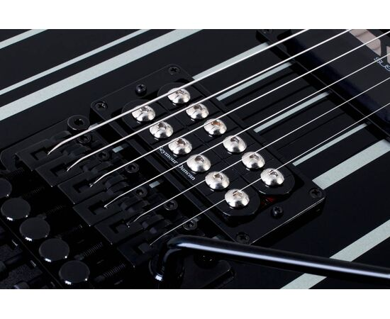 Електрогітара SCHECTER SYNYSTER GATES CUSTOM-S BLK / SIL, фото 4