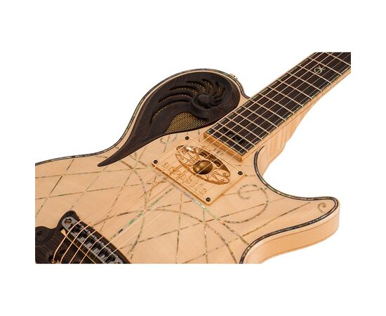 Электрогитара Universum Guitars Elena Alpha Acoustic Custom, фото 10