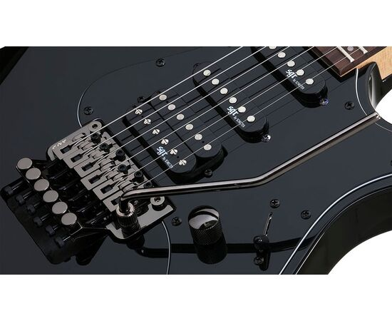 Электрогитара BANSHEE-6 FR SGR BY SCHECTER BLK, фото 6