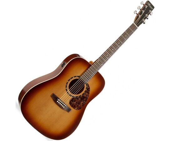 Акустична гітара з підключенням NORMAN Protege B18 Cedar Tobacco Burst EQ (Made in Canada) - 027316, фото