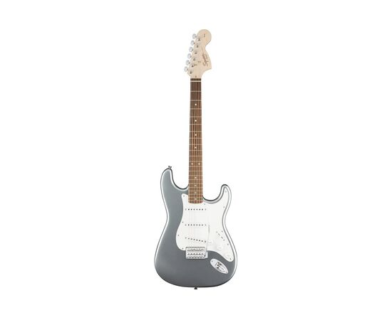 Электрогитара SQUIER by FENDER AFFINITY STRATOCASTER LRL SLICK SILVER, фото