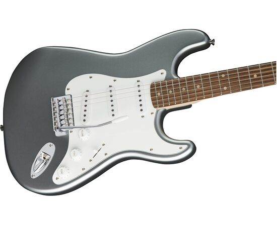 Электрогитара SQUIER by FENDER AFFINITY STRATOCASTER LRL SLICK SILVER, фото 3