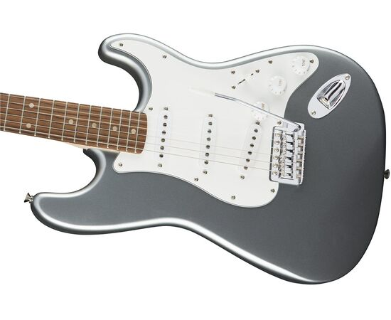 Электрогитара SQUIER by FENDER AFFINITY STRATOCASTER LRL SLICK SILVER, фото 4