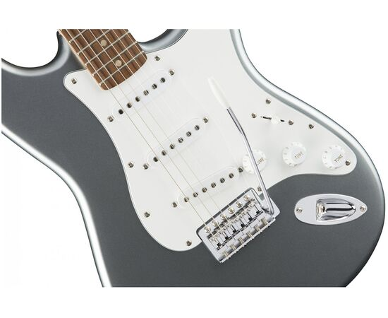 Электрогитара SQUIER by FENDER AFFINITY STRATOCASTER LRL SLICK SILVER, фото 5
