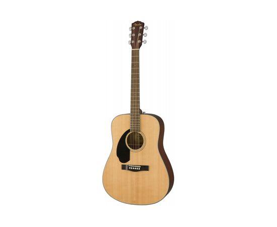 Акустическая гитара FENDER CD-60S LH WN NATURAL, фото 2