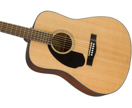 Акустическая гитара FENDER CD-60S LH WN NATURAL, фото 4