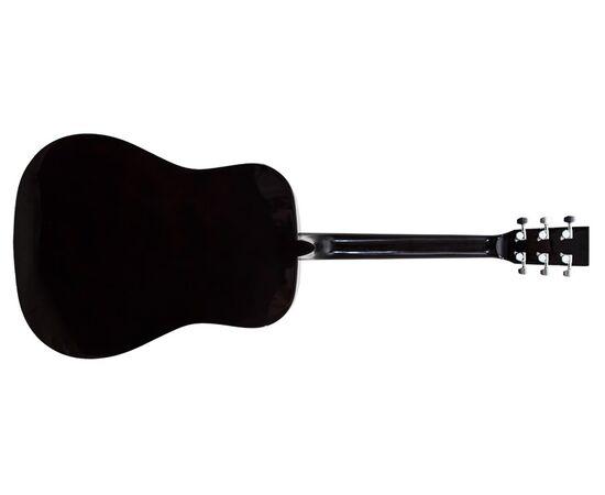 Акустическая гитара MAXTONE WGC4011 (BK), фото 3