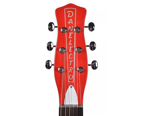 Электрогитара DANELECTRO 59M NOS+ (Red), фото 4