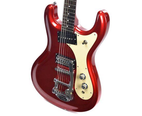 Електрогітара DANELECTRO 64D (Red Metallic), фото 2