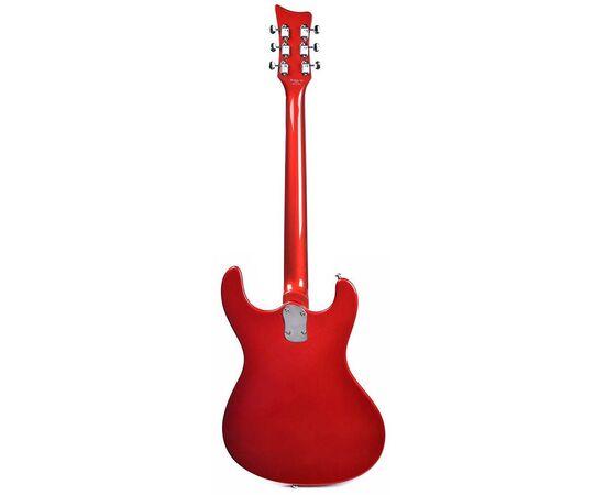 Електрогітара DANELECTRO 64D (Red Metallic), фото 3