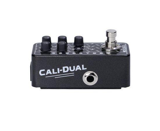 Гитарная педаль дисторшн преамп с кабинет эмуляцией MOOER 011 CALi-DUAL, фото 3