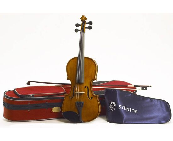 Скрипка STENTOR 1500/E STUDENT II VIOLIN OUTFIT 1/2, фото 3