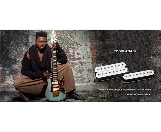 Звукосниматель для гитары DIMARZIO DP811BK IONIZER 8 BRIDGE (BLACK), фото 2