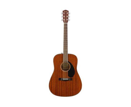 Гитара акустическая FENDER CD-60S ALL MAHOGANY NATURAL WN, фото